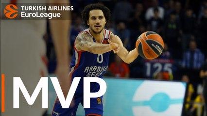 Round 11 MVP: Shane Larkin, Anadolu Efes Istanbul