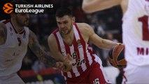 Kostas Papanikolaou highlights vs. AX Armani Exchange Milan