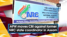 APW moves CBI against former NRC state coordinator in Assam
