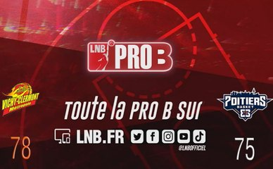 PRO B : Vichy-Clermont vs Poitiers (J8)