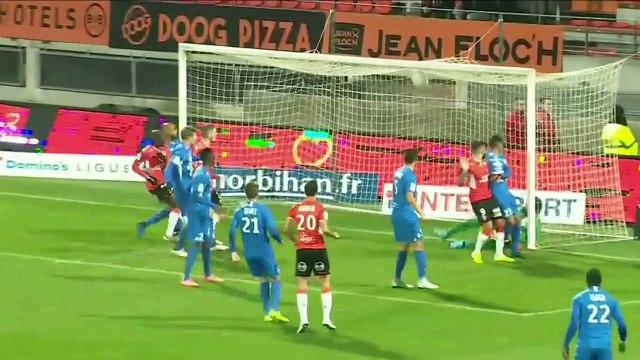 Le résumé de FC Lorient - Grenoble (2-1) 19-20