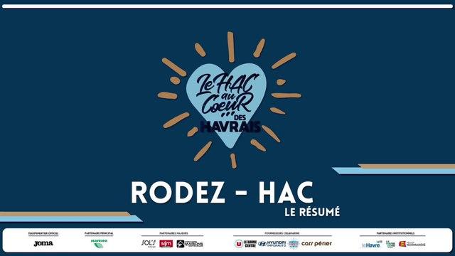 Rodez - HAC (1-2) : le résumé du match