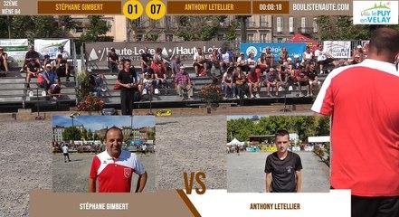 32ème tête-à-tête Stéphane GIMBERT vs Anthony LETELLIER : Le Puy-en-Velay été 2019