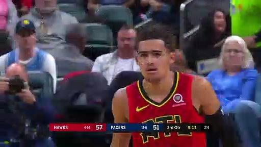 Atlanta Hawks 104 - 105 Indiana Pacers