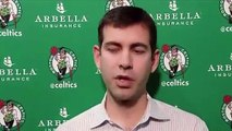 NBA - Brad Stevens addresses Kyrie Irving's Instagram post and how important mental health is for NBA players