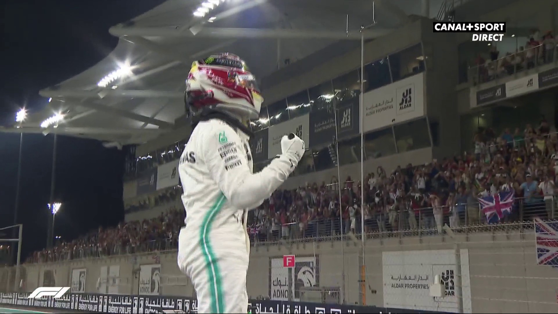Hamilton en pôle position