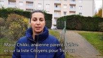 Marie Chikki, ancienne parent-d'élève et inscrite sur la liste Citoyens pour Trévoux