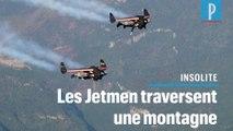 Extrême : les « Jetmen » ont traversé une montagne à 400 km/h
