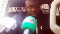 """Ousmane Sonko sur l'arrestation de Guy et Cie : """"Nous espérons qu'ils seront libérés au plus tard dans la semaine"""""""