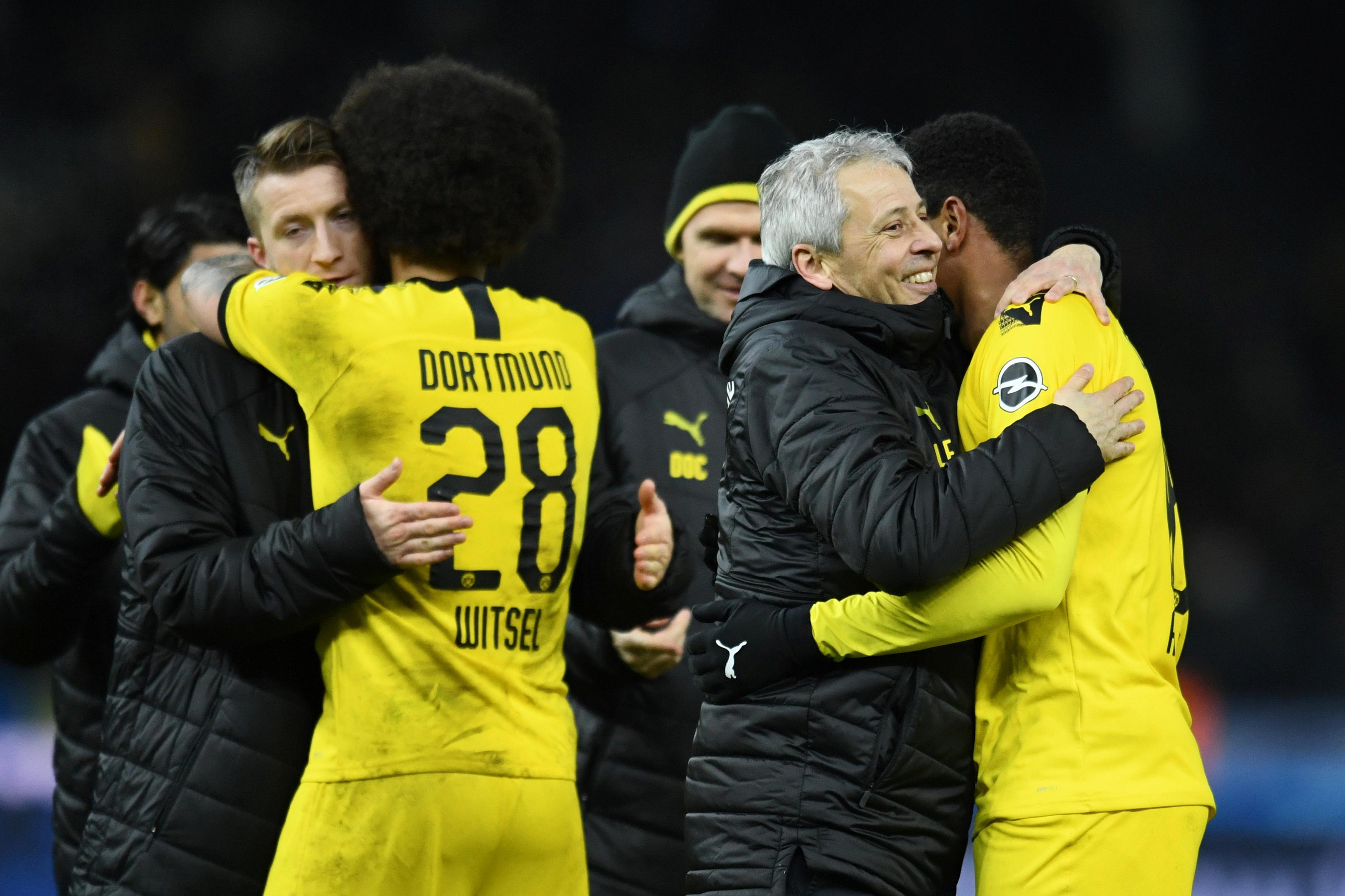 Hertha Berlin - Borussia Dortmund : Lucien Favre sauve sa peau en tremblant !