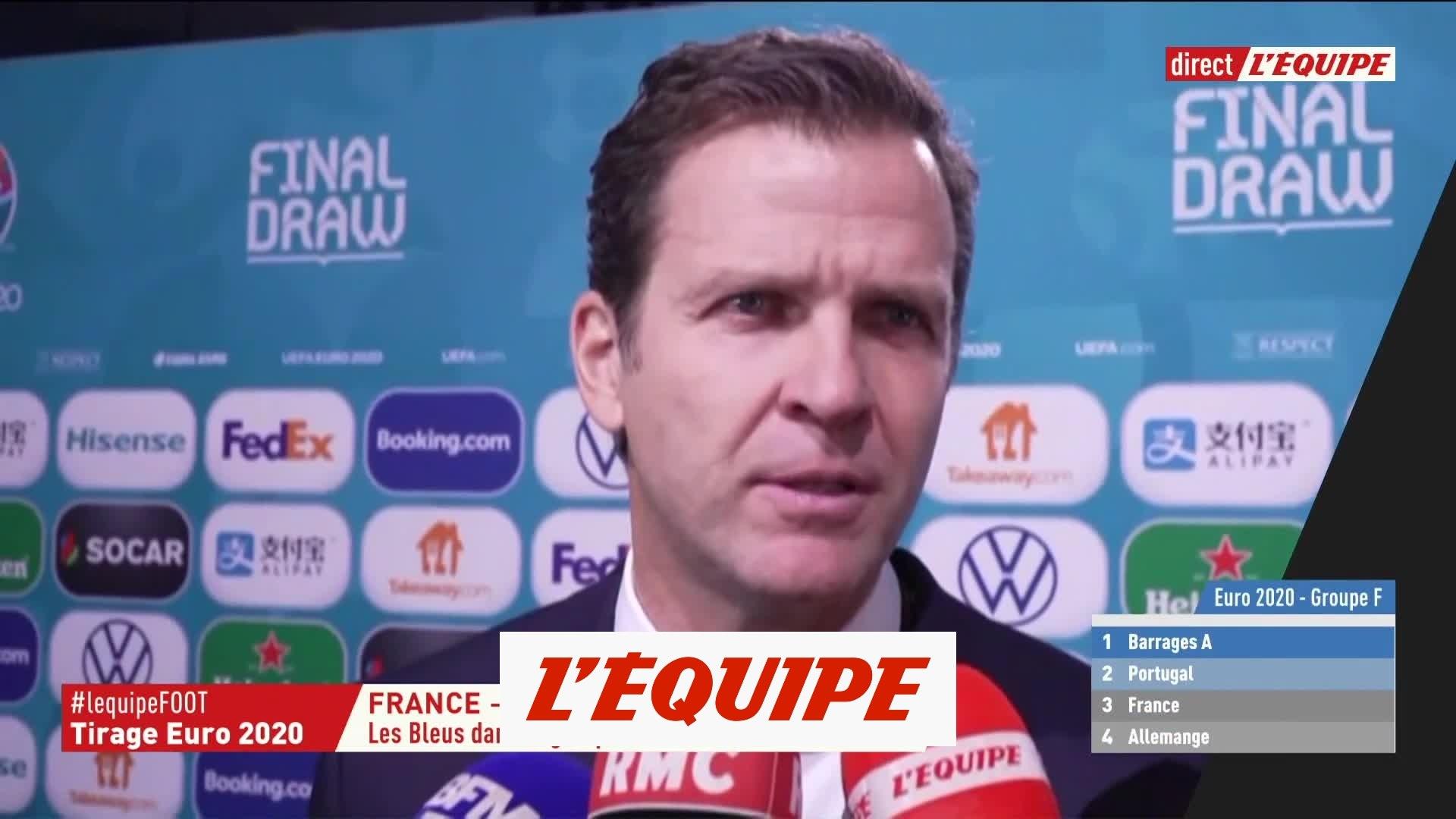 Bierhoff La France Est L Equipe La Plus Forte Foot Euro 2020 Tirage Au Sort
