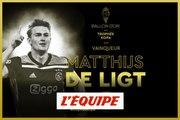 Matthijs de Ligt succède à Kylian Mbappé - Foot - Trophée Kopa France Football 2019