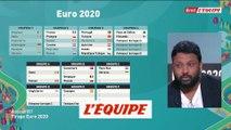 L'Angleterre et la Croatie dans le même groupe - Foot - Euro 2020 - Tirage au sort