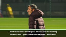 Make the Ballon d'Or easy and give it to Messi -  Valverde