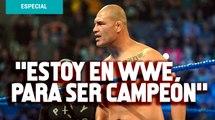 Estoy en WWE para ser campeón: Caín Velásquez