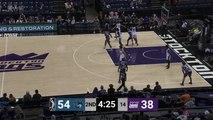 Caleb Swanigan Posts 12 points & 10 rebounds vs. Iowa Wolves