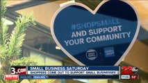 SHOPPING SMALL BUSINESS SATURDAY