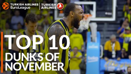 Top 10 Dunks of November!