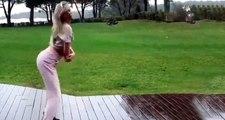 Sütyensiz kalça dansı yapan Aleyna Tilki'ye yorum yağdı