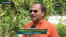Adhir Ranjan Chowdhury calls PM Modi, Amit Shah 'Infiltrator'