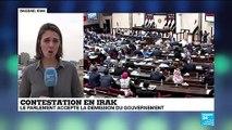 """Irak : """"La démission du gouvernement d'Adel Abdel Mahdi ouvre une période d'instabilité"""""""