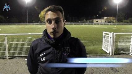 """Lilian Gaude (FC Villefranche Beaujolais)  : """"encore un match qui ne tourne pas en notre faveur"""""""