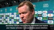"Euro 2020 - Koeman : ""Shevchenko a un peu changé l'équipe d'Ukraine"""