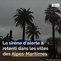 Alerte rouge pluie-inondation, la sirène d'alerte retentit dans les Alpes-Maritimes