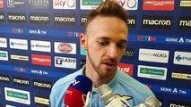 Lazio-Udinese, le parole di Lazzari in zona mista