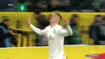 Bundesliga: Gol Wolfsburg 0-1 Bremen