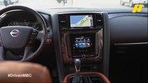 فرانسوا يختبر سيارة نيسان باترول في إمارة أبو ظبي بدريفن