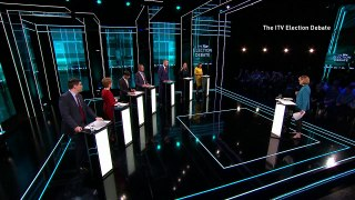 Political parties clash at the ITV Election Debate