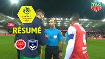 Stade de Reims - Girondins de Bordeaux (1-1)  - Résumé - (REIMS-GdB) / 2019-20