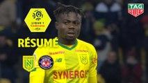 FC Nantes - Toulouse FC (2-1)  - Résumé - (FCN-TFC) / 2019-20