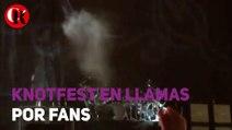 Knotfest en llamas por Fans