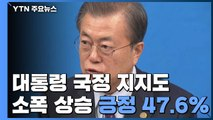 문재인 대통령 지지도 소폭 상승... 이유는? / YTN