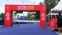 Indonesia's Jauhari Johan wins gold in men's duathlon