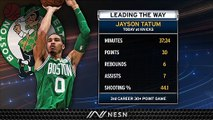 Jayson Tatum Shines As Celtics Comeback To Take Down Knicks On Sunday