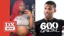Queen Key Says 600 Breezy Got Her Pregnant With Triplets