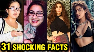 Sara Ali Khan 31 SHOCKING Unknown FACTS | Fat To Fit, Debut Movie, Affairs