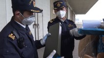 Chinese customs officials reject more than 20 tonnes of smuggled waste