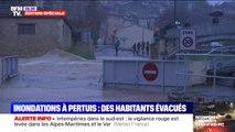 Intempéries: les images de la commune de Pertuis dans le Vaucluse en partie inondée
