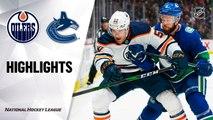 NHL Highlights | Oilers @ Canucks 12/01/19