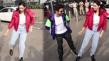 Deepika Padukone learns Dances from Kartik Aaryan at airport; Watch video   Boldsky