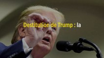 Destitution de Trump : la Maison-Blanche refuse l'audition