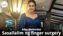 Aiko Melendez, dinetalye ang finger injury