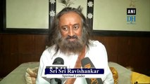 Muslim bodies have right to file petition on Ayodhya judgement: Sri Sri Ravishankar