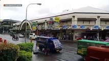 Tacloban experiences moderate rains with strong winds due to #TisoyPH