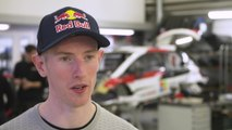 Toyota's new lineup in the WRC Interview Elfyn Evans