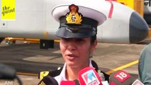 Indian Navy's First Woman Pilot, Lt Shivangi, Joins Operations